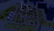 Sims 2 Downtown full view