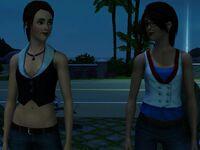 YA Redfield twins