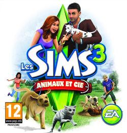 Jaquette console Les Sims 3 Animaux & Cie