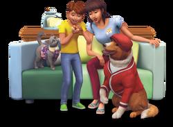Les Sims 4 Premier animal de compagnie render 02