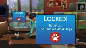 The Sims 4 My First Pet Stuff trailer but it's honest