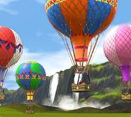 Воздушные шары Аврора Скайс