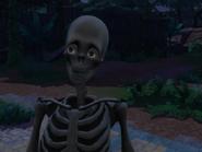 Глюк с глазами скелета