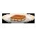 Горячий бутерброд с арахисовым маслом и бананом