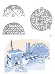 Laboratoire Scientifique (Croquis Architecture)