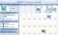 TS4 Seasons Calender UI2