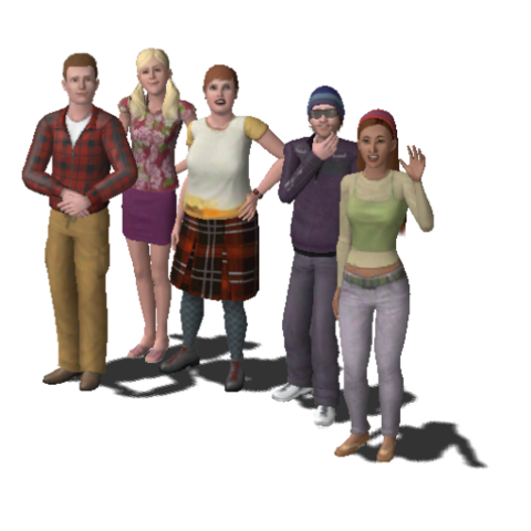 File:Roomies Household Family (The Sims 3).png