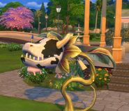 Cowplant in The Sims 4