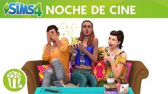 Los Sims 4 Noche de Cine Pack de Accesorios tráiler oficial-0