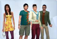 Roomies household (The Sims 4)