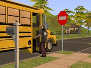 TS2 Сим идёт в школу