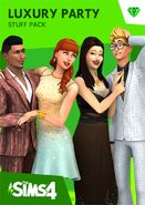 The Sims 4 Luxury Party Stuff Cover