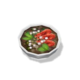 Тигровая креветка с дымком в бульоне из росы (блюдо)