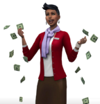 Les Sims 4 Au Travail Render 5