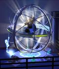 Sphère ElectroDanse en utilisation