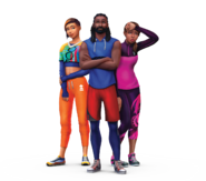 The Sims 4 Fitness Stuff Render 01