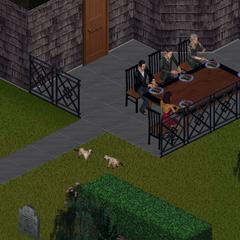 Reunión familiar de los Lápida