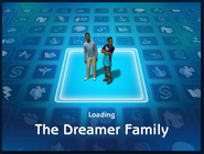 Loading screen of Dreamer family