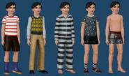 Mortimer Goth ts3 wardrobe