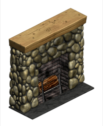 MantelpieceFireplace