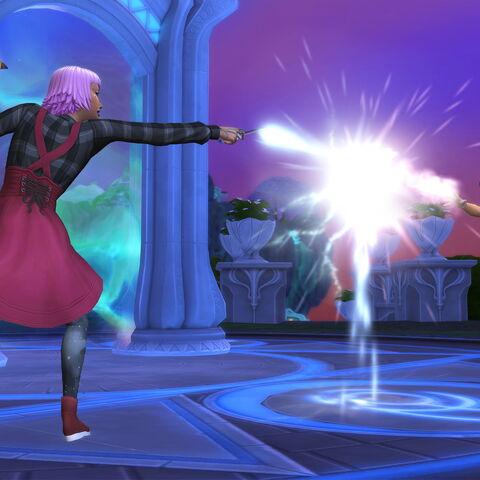 Un duelo mágico en