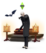 The Sims 4 Vampires Render 05