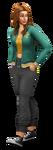 Les Sims 4 À la fac Render 03