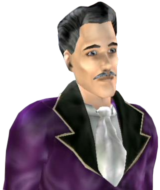 Mortimer Goth (The Sims Bustin'Out)
