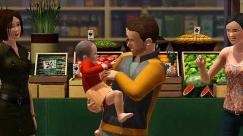 The Sims 3 Meet Nigel, cute schmoozer