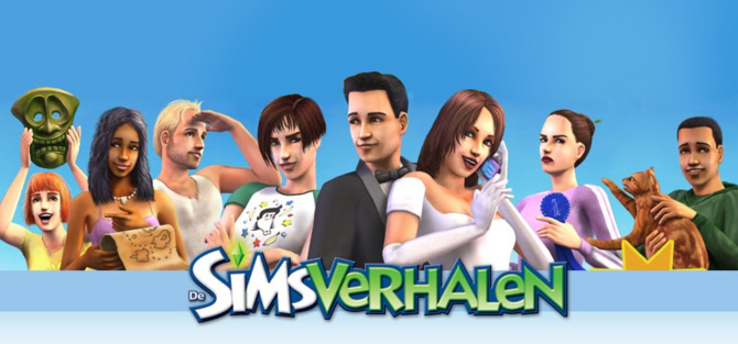De Sims Verhalen Cover