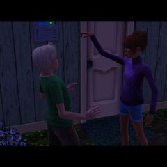 Los Sims adolescentes pueden burlarse unos de otros.