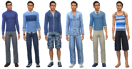 Wilford Hertz Outfits (Teen)
