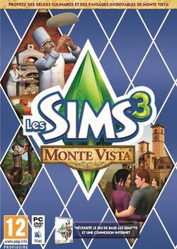 Packshot Les Sims 3 Monte Vista