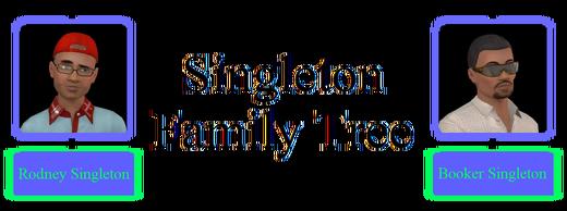 Singleton Family Tree