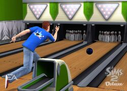 The Sims 2 Bowling