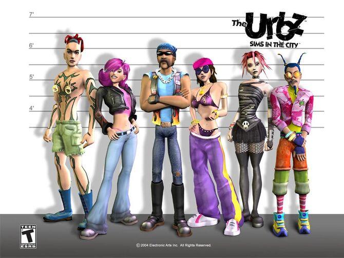 Urbz cover