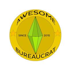 Bureaucrat badge