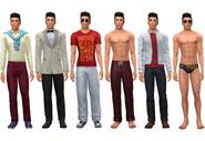 J Huntington III wardrobe