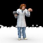 Les Sims 4 Au Travail Render 18