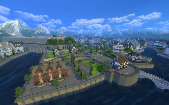 Old Town District overview