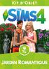 Packshot Les Sims 4 Jardin romantique