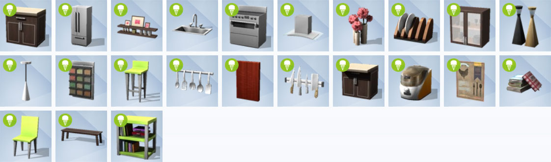 sims4 cool kitchen items 2jpg - Kitchen Items