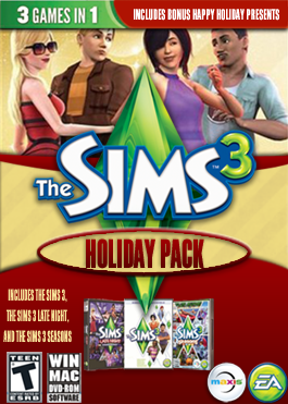 File:The Sims 3 Holiday Pack Cover.png