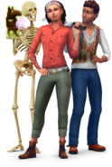 The Sims 4 Jungle Adventure Render 01
