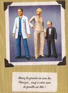 Famille Plènozas (Portrait Officiel Les Sims 3)