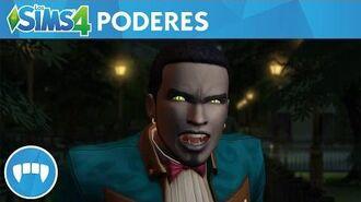 Los Sims 4 Vampiros tráiler oficial de juego con poderes vampíricos