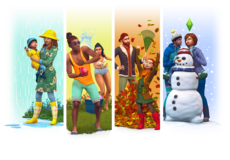 The Sims 4 Seasons Render 01