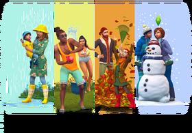 The Sims 4 Seasons Render 01