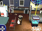 The Sims monkey butler