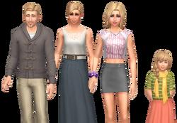 Bjergsen familie